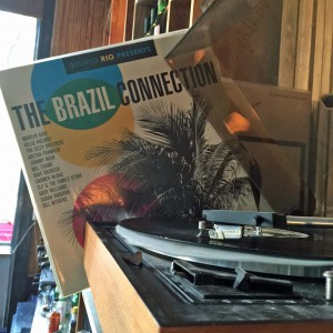 The Brazil Connection - vinyl med hakk i plata.