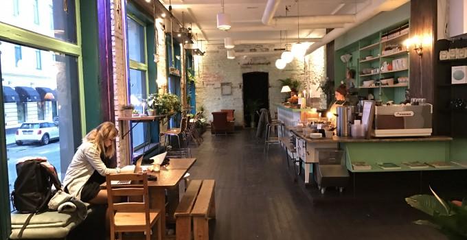 ny kafe i sentrum Skippergata 22