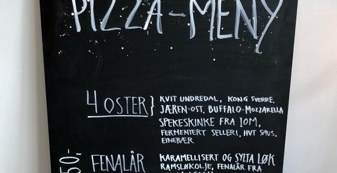 Ille Brød pizza